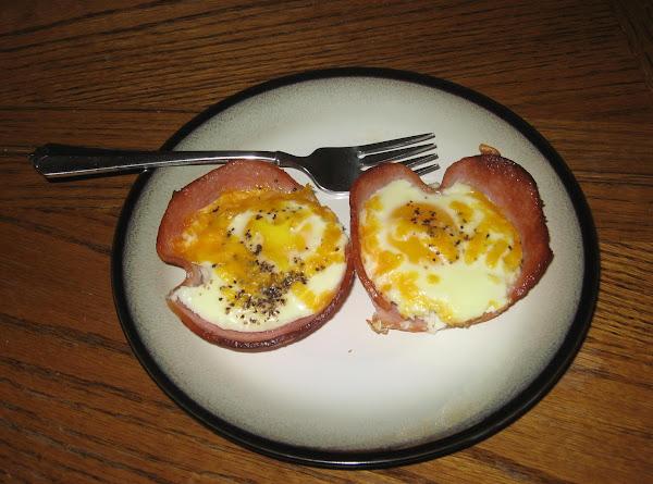 Ham N Egg Cups Recipe