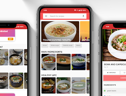 Soup Recipes – Soup Cookbook app 3