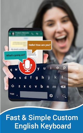 English Voice Typing Keyboard u2013 Speak to text screenshots 4