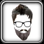 Beard & Mustache Photo Editor Icon