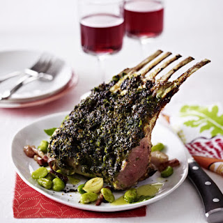 Pistachio and Herb-Crusted Rack of Lamb