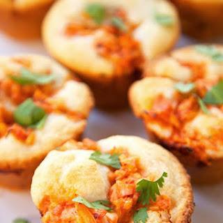 BBQ Chicken Cornbread Muffins