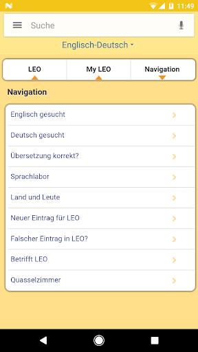 LEO dictionary  screenshots 5