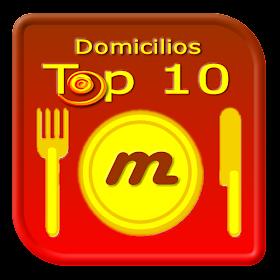 Domicilios Top 10 - Cundinamarca