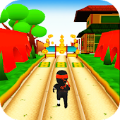 Jungle Ninja Run 3D