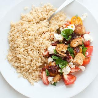 Tomato & Feta Spring Salad with Couscous