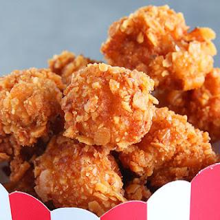 1. Cheddar Ranch Popcorn Chicken