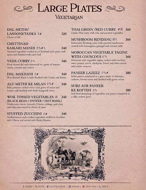 Shakesbierre menu 6