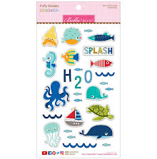 Bella Blvd Puffy Stickers - Secrets Of The Sea Boy UTGÅENDE