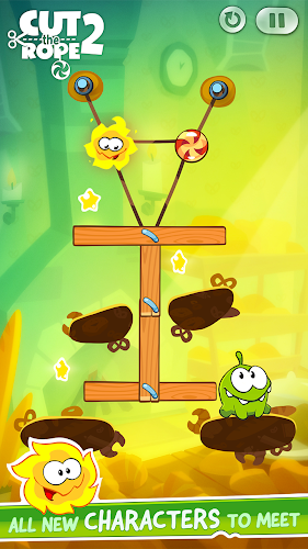 Cut the Rope 2 v1.6.1 MOD APK [LATEST] - screenshot