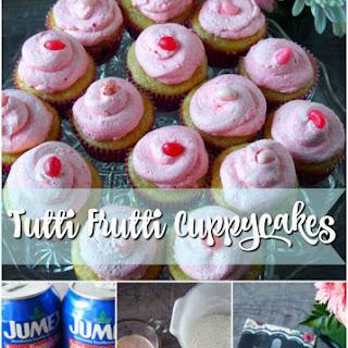 Tutti Frutti Cupcakes