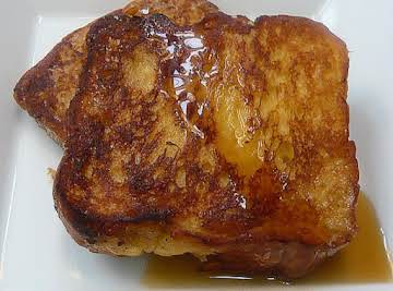 Lower Carb French Toast