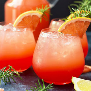 Grapefruit Sunrise Cocktail.