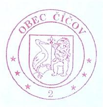 Photo: a régi pecsét, a régi címerrel
