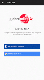 Globalmiles- screenshot thumbnail