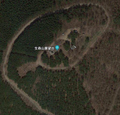こんな「生森山」でした。
