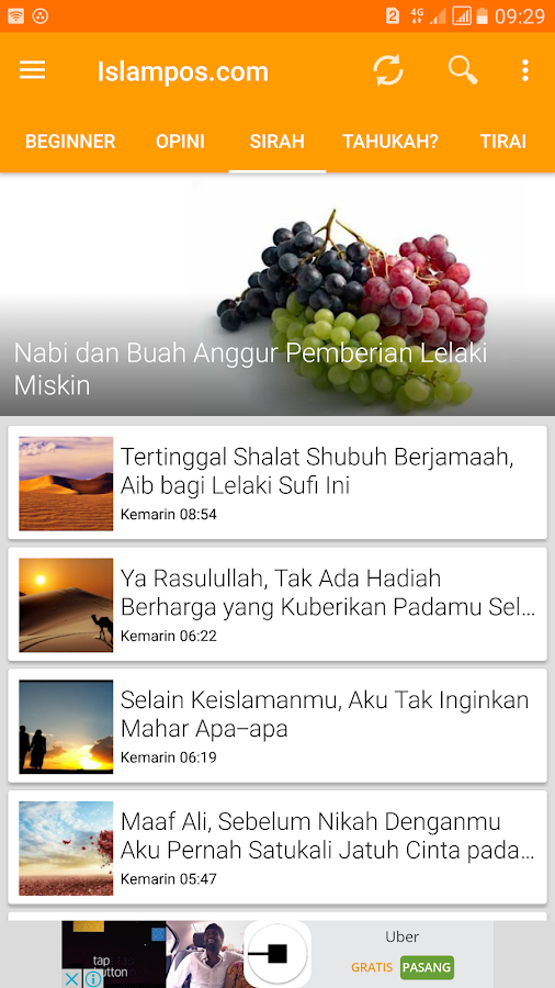 Islampos.com (Official)- screenshot