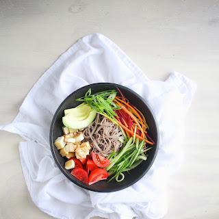 Soba and Vegetable Bowls
