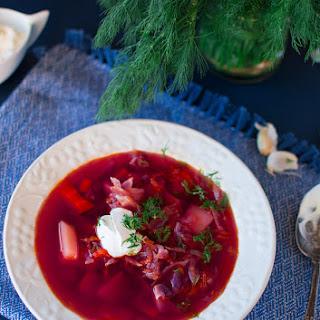 Vegetarian Borscht Soup Recipes