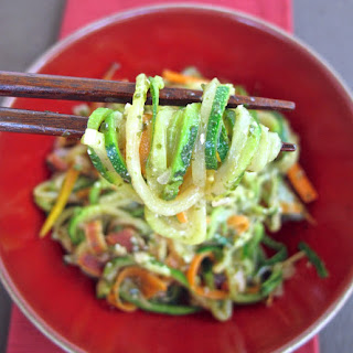 Zucchini Noodles with Seaweed Pesto