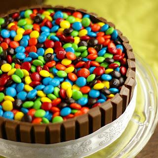 Kit Kat Cake w/ m&m's Cake