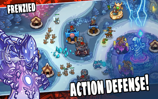 Kingdom Defense: Hero Legend TD (Tower Defense)  captures d'u00e9cran 2