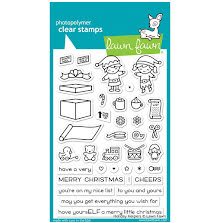 Lawn Fawn Clear Stamps 4X6 - Holiday Helpers