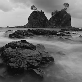 Diguisit Beach by Arnel Palor - Landscapes Travel