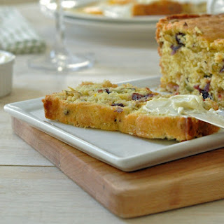 Cranberry Orange Pistachio Bread.