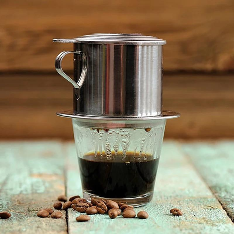 Stainless Steel Vietnamese Coffee Drip Pot Coffee Filter Infuser Office  Home Traveling Coffee Maker|Coffee Filters| - AliExpress