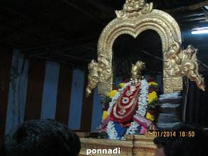 Photo: nammAzhwAr after opening of paramapadha vAsal