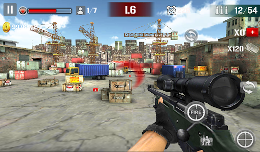 Sniper Shoot Fire War 1.2.5 screenshots 11