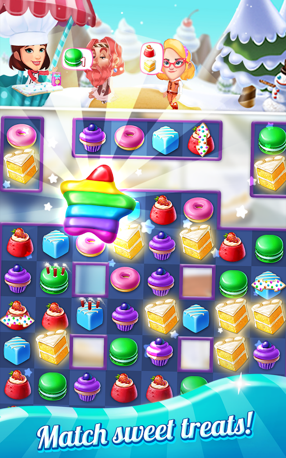 Crazy Cake Swap- screenshot