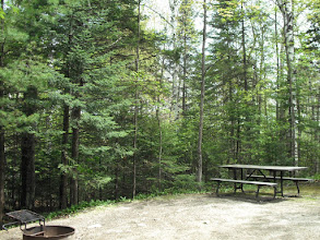 Photo: Camp site #6 at Brighton State Park