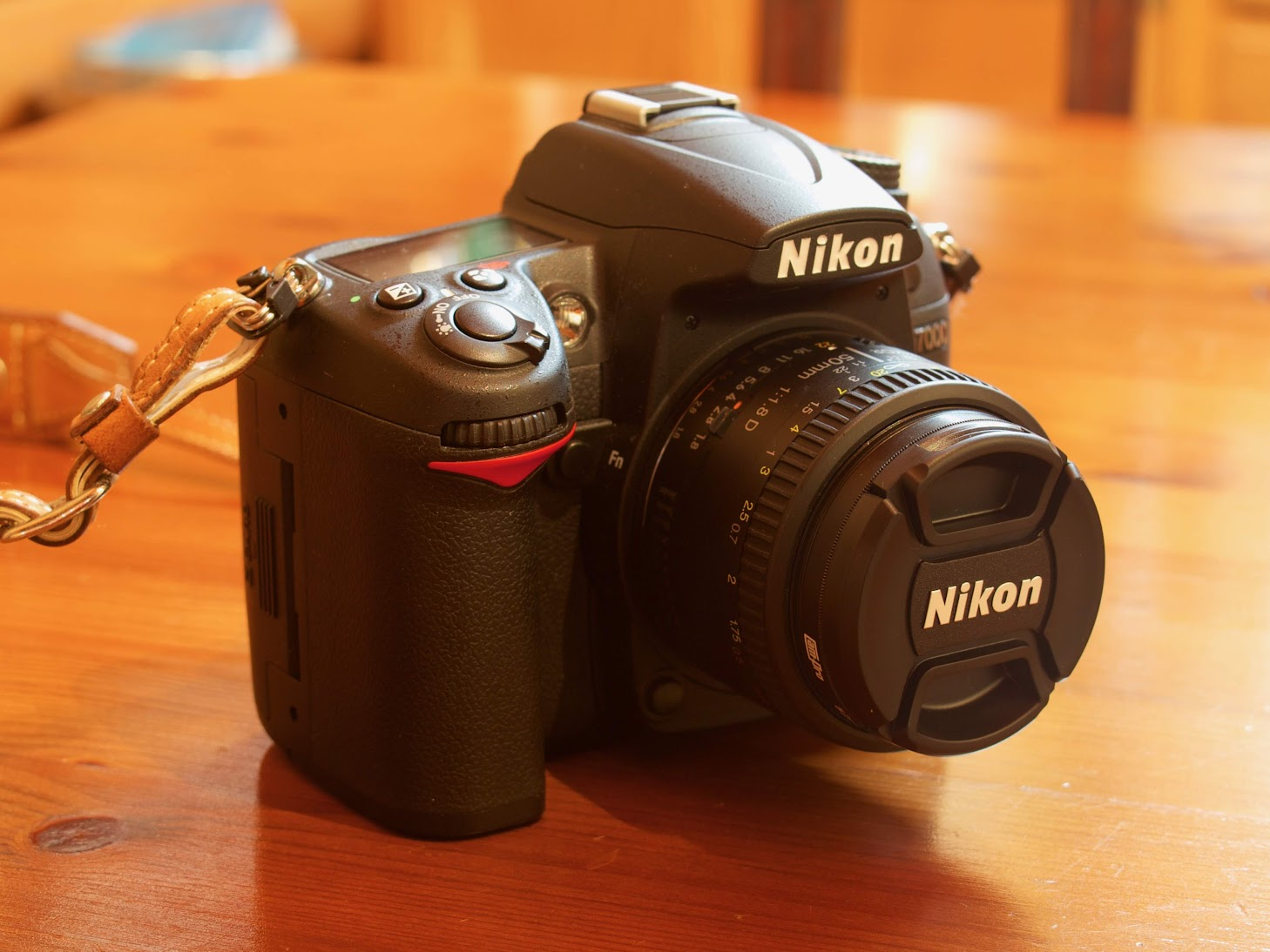 Nikon D7000 with AF Nikkor 50mm f/1.8D