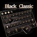 Black Classic Keyboard icon
