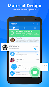 TextU Pro – Private SMS Messenger (Cracked) 2