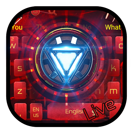 Live Red Reactor Launcher Keyboard