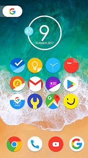 Aplikacje Oreo 8 - Icon Pack dla Androida screenshot