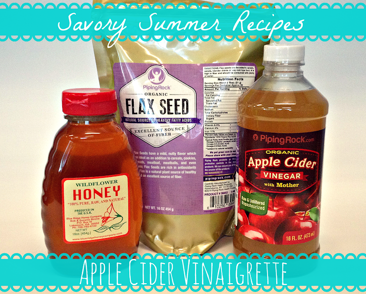 Photo: Looking for interesting ways to incorporate Apple Cider Vinegar into your diet? Why not make your own salad dressing?  This week's Savory Summer Recipe takes a healthy twist on a classic vinaigrette! This concoction is super simple, and takes but a minute to whip up. Try it out for yourself and let us know how it turns out!  Ingredients: 1/4 cup Apple Cider Vinegar (bit.ly/1r9UL1a) 2 generous TBSP Wildflower Honey (bit.ly/1q8Xy4g) 3/4 cup olive oil 2 TBSP water 1 tsp Organic Flax Seeds (bit.ly/1ovk6R7) Salt & pepper to taste  Steps: 1. Combine apple cider vinegar, honey, water, flax seeds, salt & pepper in a blender and give it a quick initial blend. 2. Drizzle olive oil into the blender and continue to blend until everything is well mixed. 3. Store in a glass jar and refrigerate. Enjoy on salads, sandwiches, anywhere you'd like! If you want an extra crunch of goodness, try adding some un-blended flax seeds to the dressing!  #pipingrock #recipes #summer #salad #dressing #applecidervinegar #honey #flaxseeds #nutrition #healthyliving