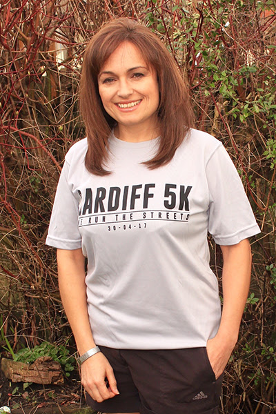 Cardiff 5K - Race For Victory Technical T-Shirt with names