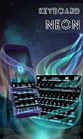 Screenshot of Neon Theme Keyboard Phone