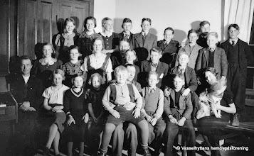 Photo: Missionshuset. Söndagsskolan 1935