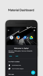 Zephyr - Icon Pack Screenshot