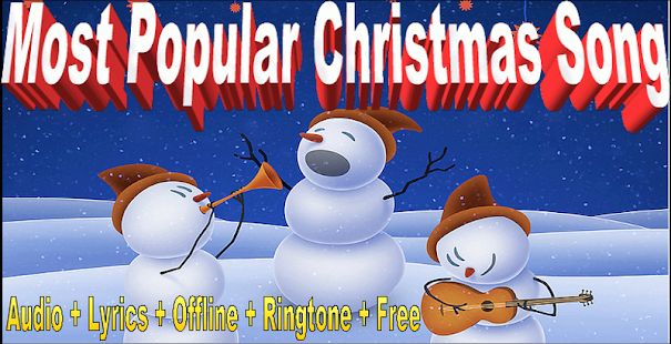 Most Popular Christmas Song - náhled