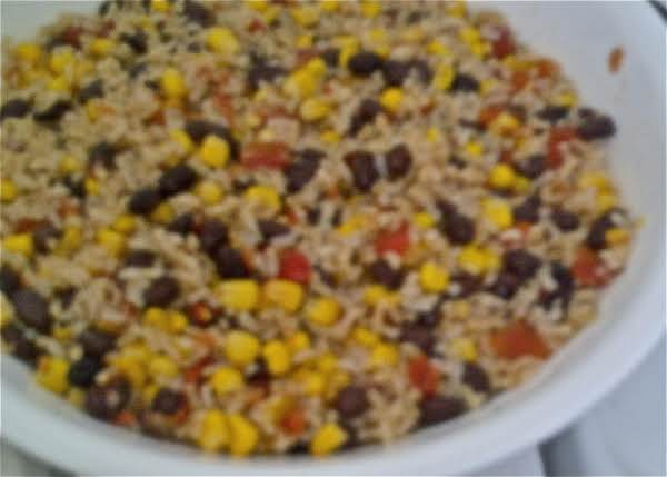 Chilled Rice & Corn Salad Recipe