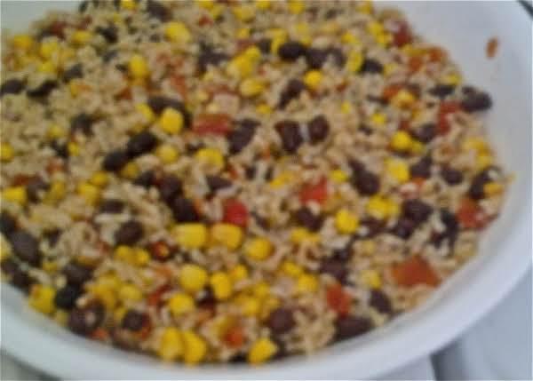 Chilled Rice & Corn Salad