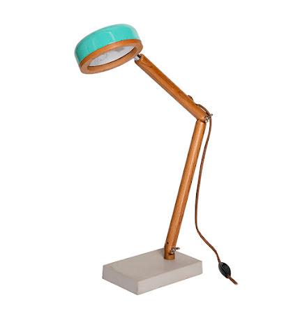 Hipp LED bordslampa - Tiffany Green