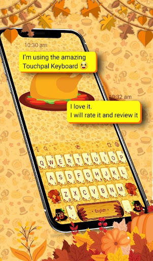 Download Happy Thanksgiving Keyboard Theme MOD APK 2