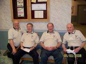 Photo: Ken, Reg, Don and David